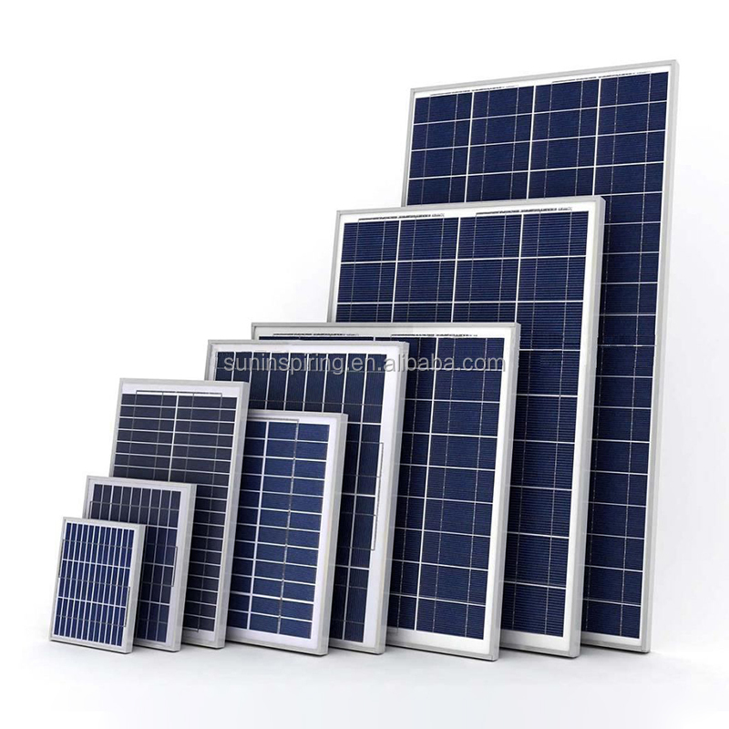 Anti Humidity Custom Building Solar Panel 200W Anti Reflective A Grade