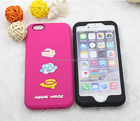 3D Silicone Cartoon Phone Case For Iphone 6 and 6 Plus