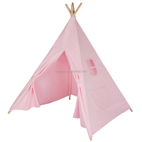 LoveTree 100% pure cotton 2016 Best Prices New design OEM kids play indian teepee tent