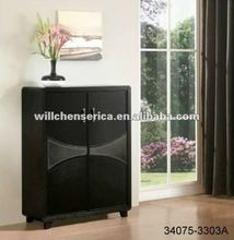 STYLISH WOODEN SHOE CABINET WITH 2-DOOR