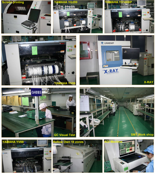 Shenzhen PCBA Manufacturer Provide SMT Electronic Components PCB Assembly Service