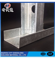 Competitive price widely use drywall steel profile cd/ud