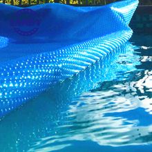 High quality PE Hard plastic geo bubble solar protection for swimming pool cover fabric