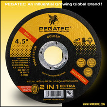 pegatec brand 115X1.2X22 steel and stainless steel cutting disc