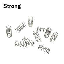 customized stainless steel small compression coil springs precision extension springs