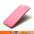 Good quality plastic pc cover water stick mobile phone cases for I6