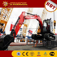 used excavator cabs cheap sany excavator for sale mini excavator new price (SY65C-9)
