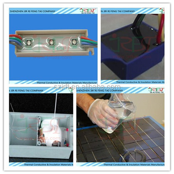 Waterproof Conductive LED Encapsulation Silicone Potting Compound Silicone