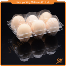 Disposable incubator securely plastic pvc blister egg container egg tray