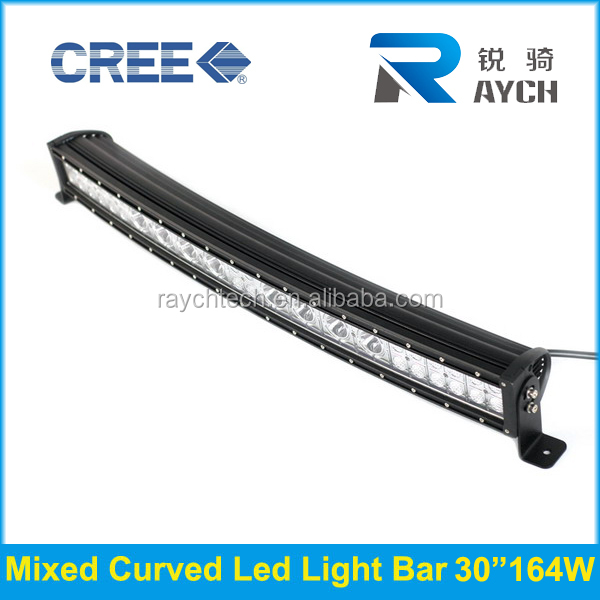 RAYCH 4x4 waterproof mixed beam curve led work light bar