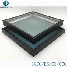 Folding insulated glass doors prices fog-proof flat roof skylight glass