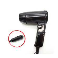 At Fashion 12V Mini Car Use Hair Dryer Cheap Blow dryer hair Styling Tools electric Small travel hair dryer 216W