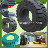 neumaticos solidos/ forklift solid rubber tyres 6.00-9 (black&non marking available)