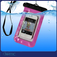 Wholesale universal PVC waterproof cell phone bag