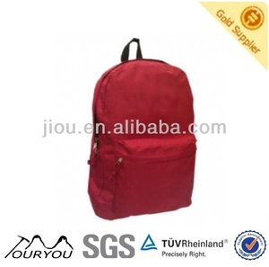 Cheap Red Polyester School Backpack For Girls