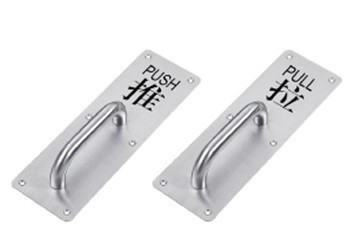 High Quality Stainless Steel Glass Door Handle JM-766/767
