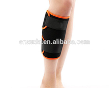 Calf Brace Adjustable Neoprene Shin Splints Leg Compression Wrap Support for Pulled Calf Muscle Pain Torn Calf Strain Injury
