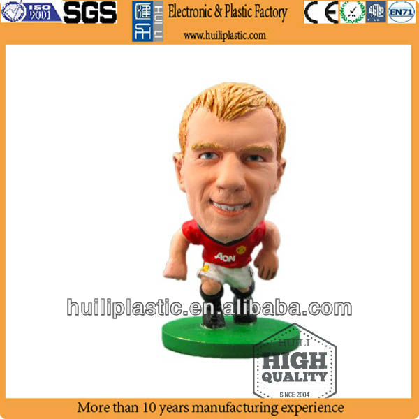 Football player;platic football player;Mini plastic football player