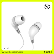 Sport In-ear Ear Piece Stereo Earphone Headphone Waterproof With Microphone earbuds 2016 New Product