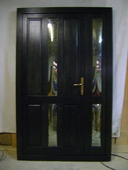 Fir wood external doors
