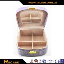 Professional Lovely And Popular Oem&Odm Carrying Aluminum Travel Jewelry Case