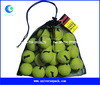 custom high quality cheap price drawstring golf ball mesh bag