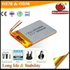 3.7v rechargeable li-polymer battery,7.4v lithium-ion battery cell 1850 mah