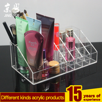 Clear acrylic transparent cosmetic boxes,Custom cosmetics collection boxes