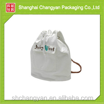 new design cotton drawstring shoe bags (COT36)