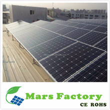 Good efficiency poly solar panel 1KW 2KW 3KW power generator home use portable solar energy system