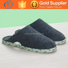 warm and soft felt shoes,wool felt slipper,indoor shoes
