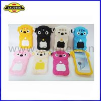 Cute Animal Silicone Mobile Phone Case,Cute Galaxy S3 Case,More Colors Available,Laudtec