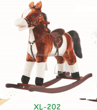 Medium Sized Riding Horse Cycle Plush Animal Toys Direct From Factory