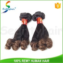 Very cheap 100 remy human hair extensions all different types of curly weave funmi hair