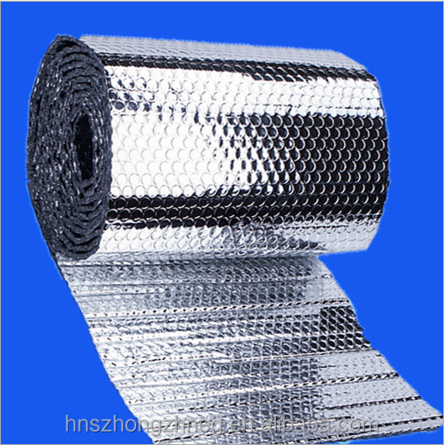 Air Insulation Polyester Bubble Foil Insulation Thermal Aluminum Bubble Foil Material Heat Insulation