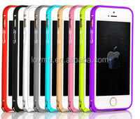 Aluminum Frame Metal Slim Bumper Case Hard Cover for iPhone 5 & 5S