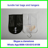 zr 100 human hair luxury packing bag and hanger