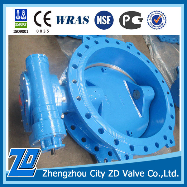 DIN flanged butterfly valve for water industry