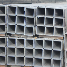 Q235 galvanized high tensile square pipe for building material