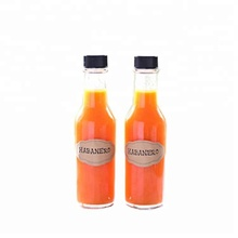 Wholesale hot sauce bottle <strong>glass</strong> 5 oz, 150ml tomato sauce <strong>glass</strong> bottle