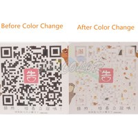 Long-Term Custom Creative Temperature Color Changing Stickers And Labels