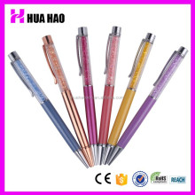 Fancy Style Full Ballpoint Ink Pen with Personalized Crystal Rainbow Rhinestones for Touch Screen Pen
