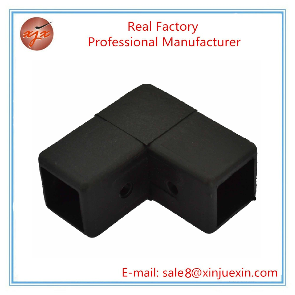 Plastic pipe fitting custom 1'' square tube connectors