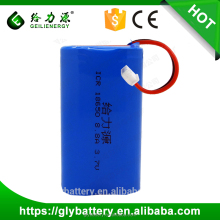 lithium ion battery pack 8800mah 3.7v icr li-ion 18650 rechargeable battery