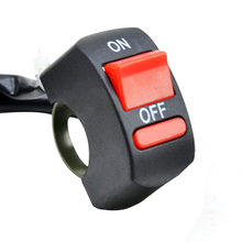 Double Flash Light Handlebar Flameout Control Switch ON OFF Button For ATV Bike 1 Pc 22mm Motor Switch Assy