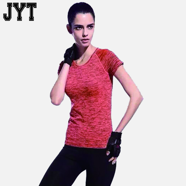 2017 cheap price gym dri fit yoga shirts wholesale ropa de yoga China with good shape elastic