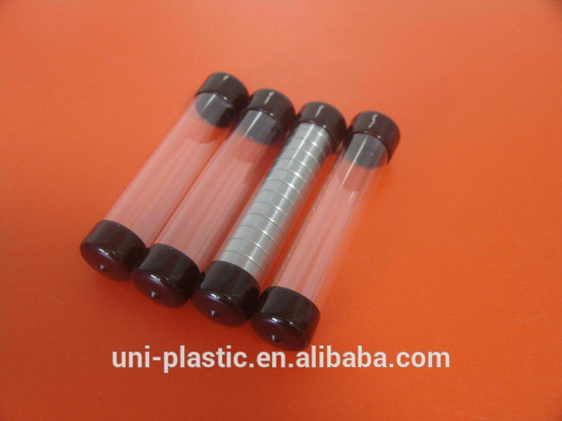 China manufacturer sealed bottom clear plastic tubes
