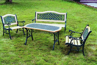 Hot Sale Water Proof Anti Scratch Aluminium Metal Garden Furniture