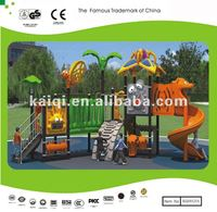 New Designed Outdoor Playground with Step, Play & Slide Super Structure for 15-30 children