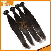 "Dye Bleach Restyle 5A Plus Hair Weave 100g/pc Natural Black Hair Weft 2pc/Set 24"" 26"" Unprocessed European Virgin Hair Extension"